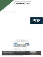 Test de Retención Visual de Benton en Tests-gratis