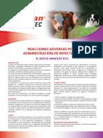 Vacunas Reacciones Adversas Post Administración de Inyectables
