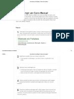 Como Dirigir Um Carro Manual_ 16 Passos (Com Imagens)