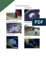 Fenonemos Naturales en Guatemala y Desastres Naturales