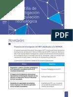 Julio 2017- Gacetilla de Investigación y Vinculación Tecnológica UNAHUR #5