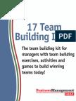 17 Team Building Ideas