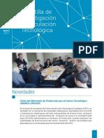 Mayo 2017- Gacetilla de Investigación y Vinculación Tecnológica UNAHUR #3
