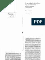 Bleichmar, S. - Interpretación y develamiento en El aprendiz de historiador y el maestro brujo.pdf