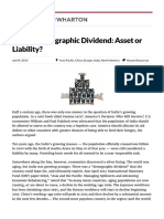 India's Demographic Dividend_ Asset or Liability_ - Knowledge@Wharton