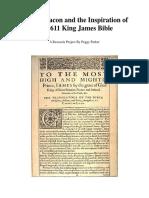 1611 KJV Research Paper Peggy-Parker
