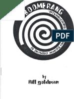 Bill Goldman - Boomerang