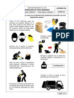 Lgpr008-i01 Operación Kit Para Derrames
