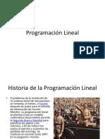 Exposicion Programación Lineal