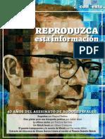 Revista Contexto - Rodolfo Walsh