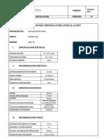 Condiciones de Instalacion Destilador Human Lab Wsa-12