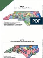 NCHouse County Group Maps Covington Case Exhibit Declaration of Dr Thomas Hofeller