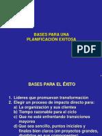 Bases Para Planificar