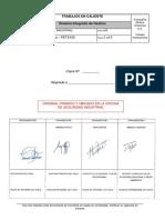 GSSL - SIND - PETS102 Trabajos en Caliente