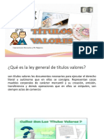 Titulos Valoers Expo
