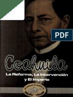 COAHUILA La Reforma, La Intervencion y El Imperio