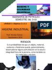 Clase de Petroleo Del Higiene y Seguridad Industrial