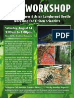 BCC Insect Workshop Poster