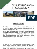 Análisis Situacional Industria Azucarera