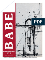 Babel - Revista Literaria Año 4, No. 7