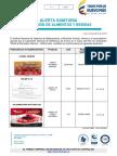 Presencia de Listeria Monocytogenes en Jamón Ahumado