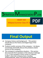 Strategic Management Plan 5