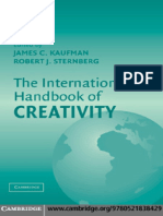 The International Handbook of Creativity.pdf