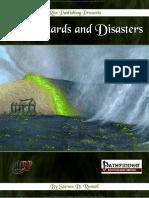 Pathfinder RPG OGL - 101 Hazards and Disasters