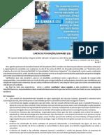CARTA DE POVOAÇÃO/LINHARES (ES)