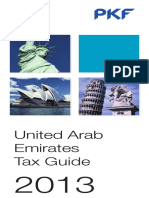 United Arab Emirates Pkf Tax Guide 2013