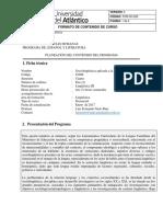 Programa de Sociolingüística Aplicada a La Docencia