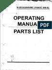 MANUAL DE OPERACION CENTRO DE MAQUINADO CNC CHEVALIER 2040 VMC PARTE 1