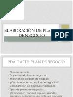 Plandenegocio- 2a Parte