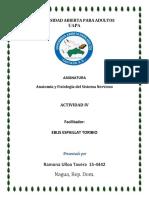 Anatomía y Fisiología Del Sistema Nervioso TAREA 4