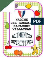 Alimentos Nutritivos Nadine
