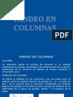 Pandeo de Columnas