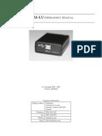 SQM-LU Users Manual