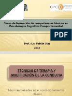 Clase-9 Terapia Conductual