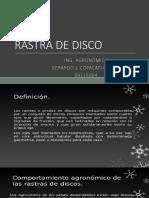 Rastra de Disco