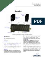 VE5001 Product Data Sheet DeltaV Power Supplies