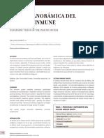 Visión panorámica del sistema inmune