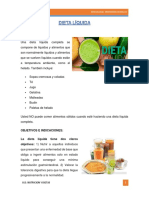 Dieta Líquida