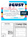 2017 August Catholic Kids Bulletin