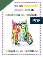 Proyecto Educación Emocional Monstruo Colores