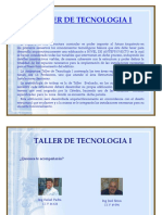 Proyecto Taller I - 2017 I