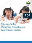 Perkembangan Cognitive anak