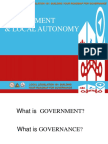 Topic 2 Government & Local Autonomy