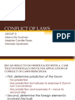 GROUP 2 Presentation Conflict of Laws