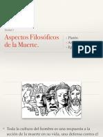 Antropología de La Muerte y Existencialismo