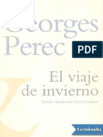 El Viaje de Invierno - Georges Perec